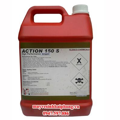 Hóa chất làm sạch, tẩy lớp phủ mặt sàn Action 150S