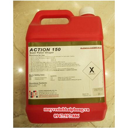 Hóa chất tẩy, tróc lớp men phủ sàn Action 150