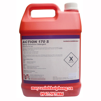 Hóa chất giặt thảm ít bọt Action 170S