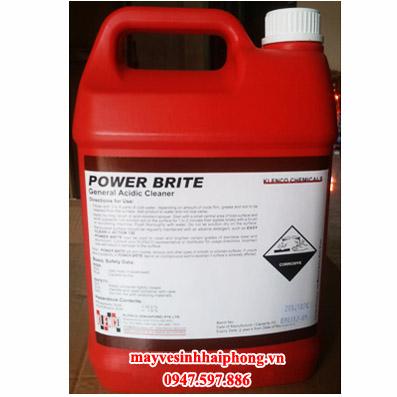 Hóa chất tẩy cặn, rỉ bề mặt vật liệu Power Brite
