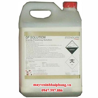 Hóa chất xử lý, bảo dưỡng, tạo độ bóng cho đá Granite tự nhiên GF Powder và GF Solution