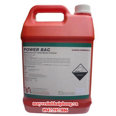 Hóa chất khử trùng và vệ sinh bồn cầu Power Bac